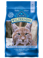 Blue Buffalo Wilderness Indoor Chicken Recipe Dry Cat Food