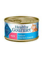 Blue Healthy Gourmet Indoor Pate Chicken Entrée Canned Cat Food 5.5oz