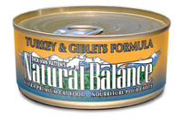 Natural Balance Ultra Premium Turkey & Giblets Canned Cat Formula - 5.5oz