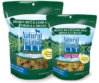 Natural Balance L.I.T. Limited Ingredient Treats® Biscuits Brown Rice & Lamb Meal Formula