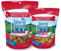 Natural Balance L.I.T. Limited Ingredient Treats® Biscuits Sweet Potato & Bison Formula