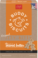 Cloud Star Itty Bitty Buddy Biscuits Peanut Butter Flavor Dog Treats