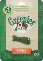Greenies Dog Dental Treat Petite 12oz