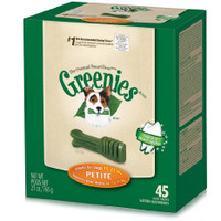 Greenies Dog Dental Treat Petite 27oz