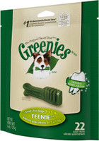 Greenies Dog Dental Treat Teenie 6oz