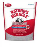 Nature's Miracle Advanced Ultra Odor-Absorbent Clumping Paper Litter 10-lb