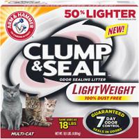 Arm & Hammer Clump & Seal Lightweight Multi-Cat Litter