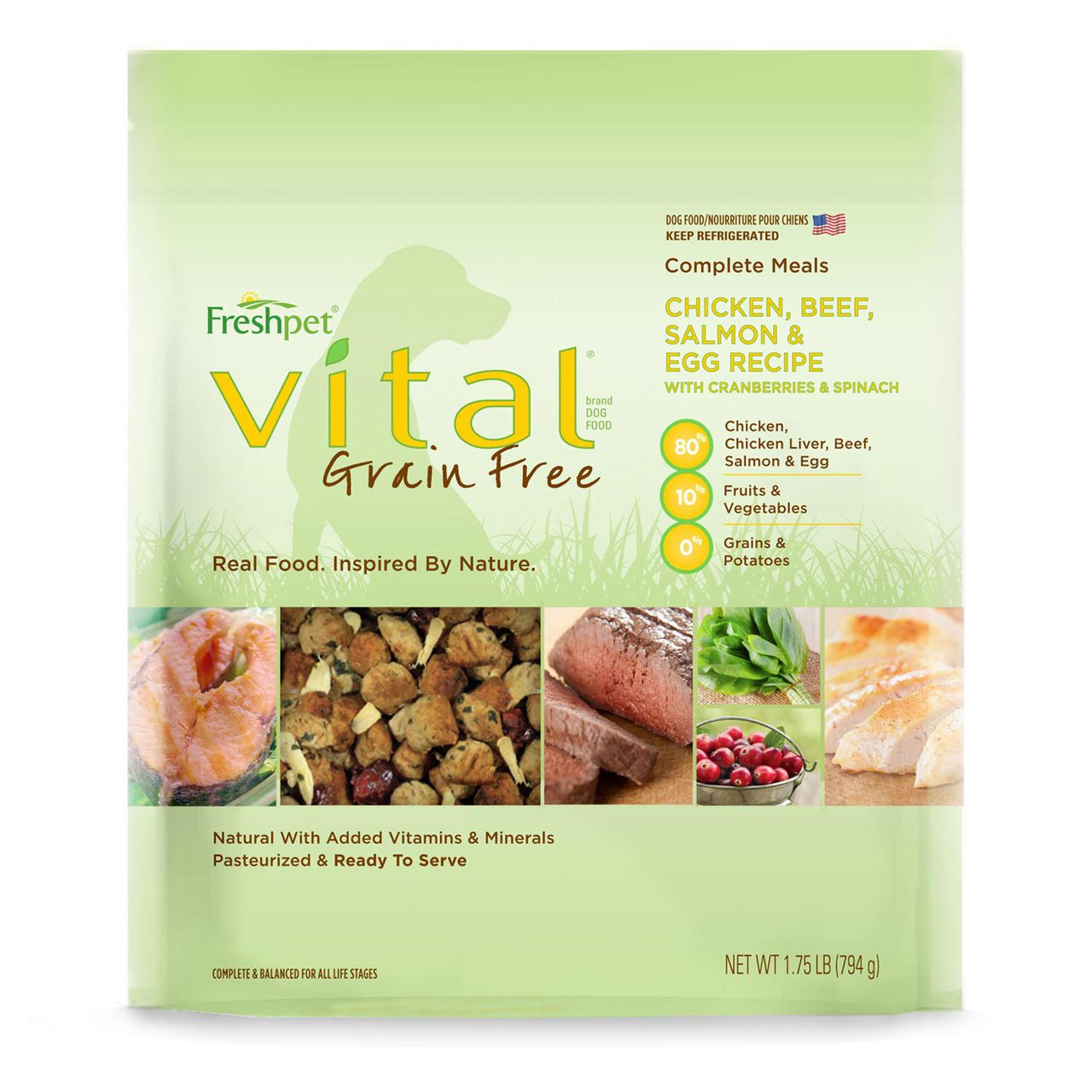 Freshpet vital chicken beef salmon egg with cranberries image 1 forumfinder Images