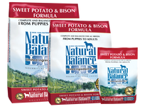 Natural Balance Limited Ingredient  Bison & Sweet Potato Dry Dog Food