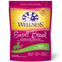 Wellness Complete Health Small Breed Adult Turkey & Oatmeal Dry Dog Food