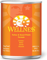 Wellness Complete Health Turkey & Sweet Potato Formula Canned Dog Food