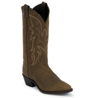 Justin Men's Bay Apache Classic Western Boot - Brown