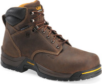 "Carolina Men's 6"" Waterproof Insulated Composite Toe Work Boots - Brown"