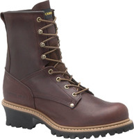 "Carolina Men's 8"" Logger Work Boot - Brown"