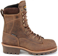 "Carolina Men's 8"" Waterproof Insulated Lace-to-Toe Logger"