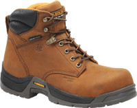 "Carolina Men's 6"" Waterproof Broad Composite Toe Work Boots - Brown"