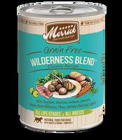 Merrick Wilderness Blend Grain Free Canned Dog Food