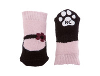 RC Pets Pawks Pink Mary Janes Dog Socks