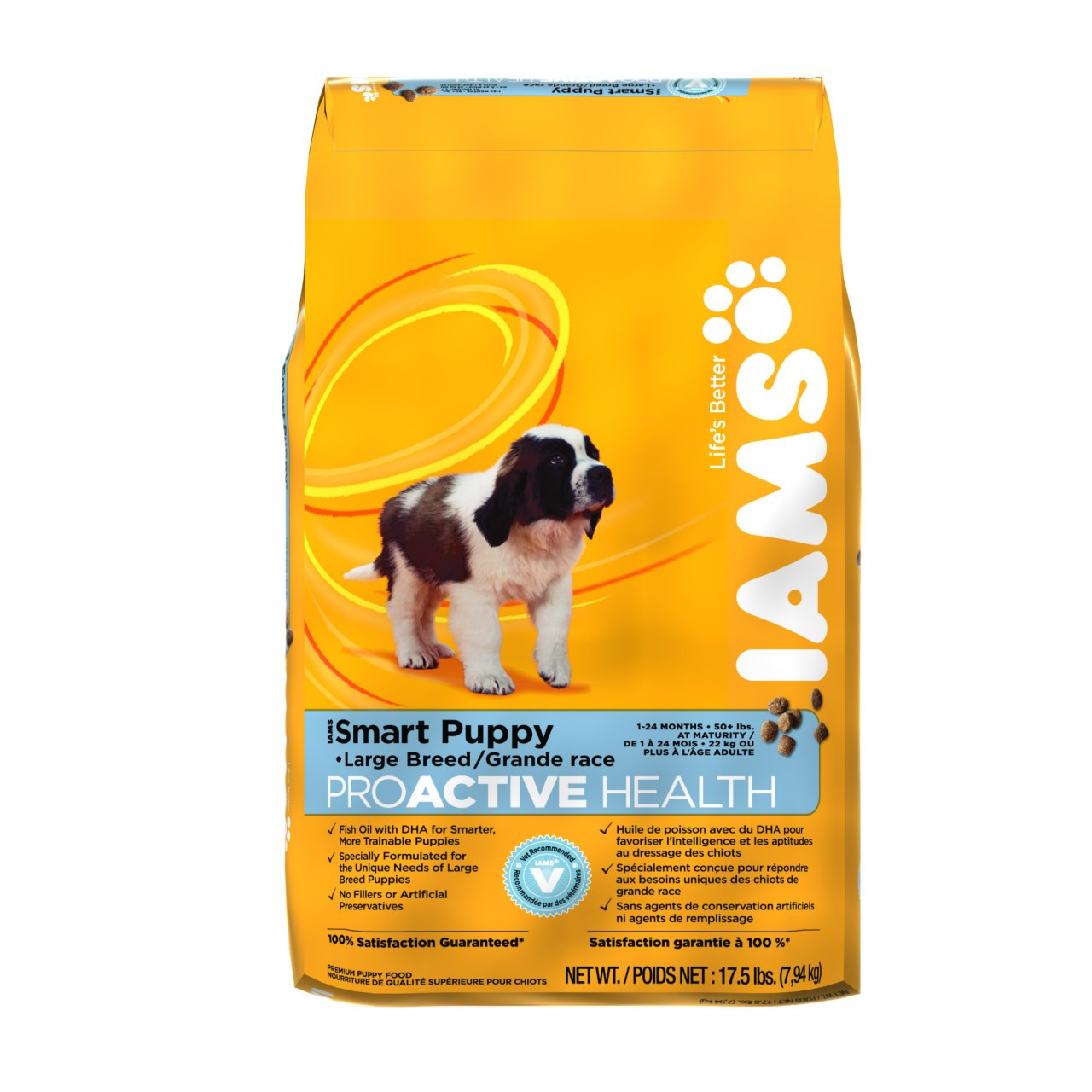 Iams Dry Dog Food Large Breed Puppy  Lb