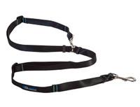 RC pet Canine Equipment Technika Beyond Control Leash - Black