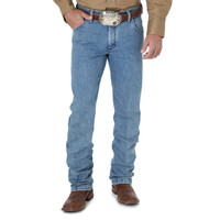 Wrangler Premium Performance Advanced Comfort Cowboy Cut Jean - Stone Bleach