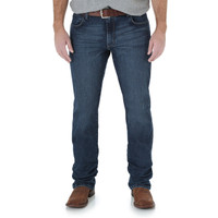 Wrangler Slim Straight Amarillo Men's Jean - Dark Wash