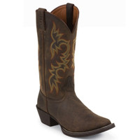 Justin Men's Sorel Apache Square Toe Cowboy Boots