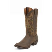 Justin Men's Apache Snip Toe Cowboy Boots - Sorrel