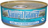 Natural Balance Ultra Premium Tuna with Shrimp Canned Cat Formula - 5.5oz