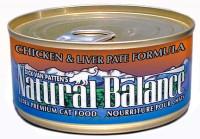 Natural Balance Ultra Premium Chicken & Liver Pate Canned Cat Formula - 5.5oz