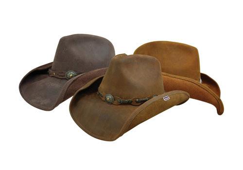 4afaac2dfed ... Stetson Roxbury Leather Hat - Mocha. Image 1. Image 1  Image 2