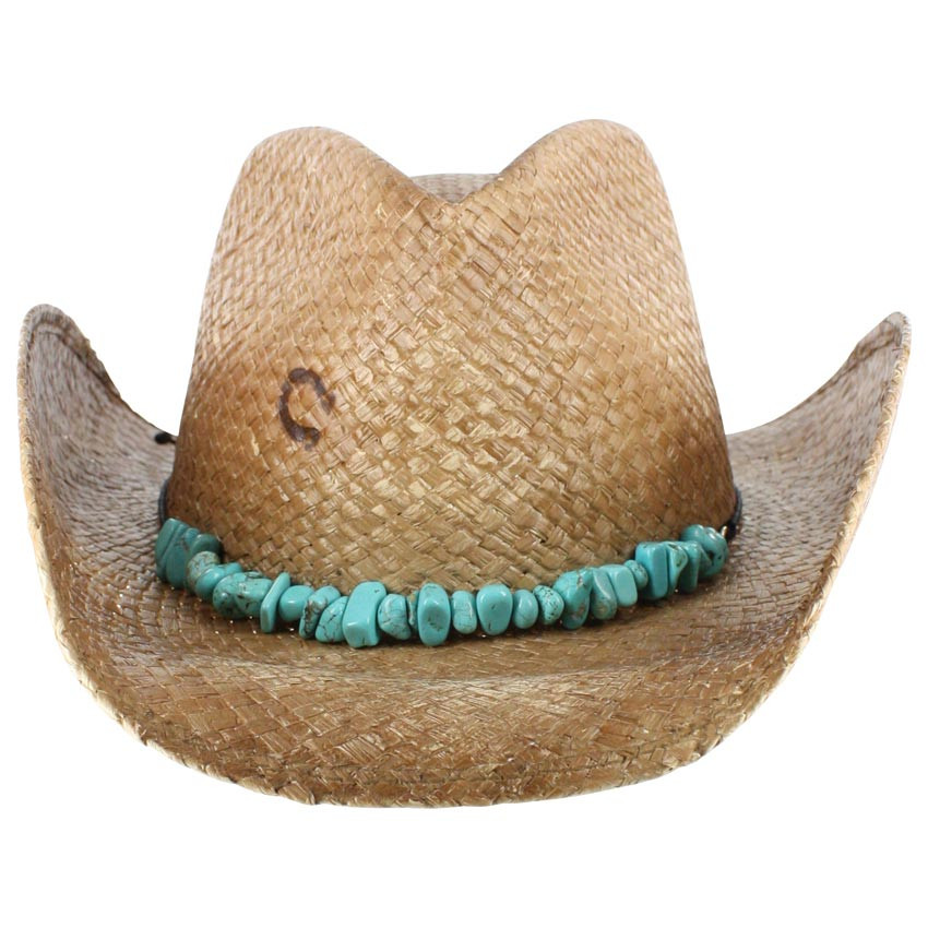 3d797c3e4 Charlie-1-Horse Women's Tulum Straw Cowgirl Hat