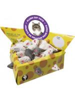 Cheesebox Mice Display