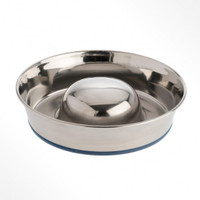 Slow Feed Bowl Stainless