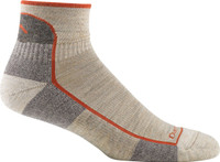 Darn Tough Men's Hiker 1/4 Sock Cushion - Oatmeal