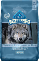 Blue Wilderness Grain Free Chicken Recipe Adult Dry Dog Food