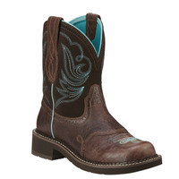 Ariat Women's Fatbaby Heritage Dapper Cowboy Boots - Brown