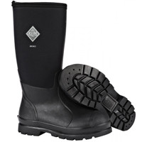 Muck Chore Classic Hi Waterproof Work Boots - Black
