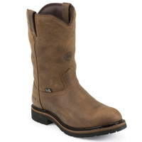Justin Men's Wyoming Worker Waterproof Insulated Steel Toe Work Boots - Brown