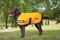 Weatherbeeta Waterproof Reflective Parka 300D Dog Coat - Orange