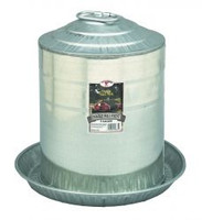 Double Wall Metal Poultry Fount 5 Gallon