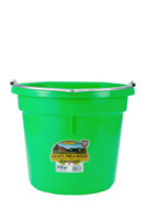 Duraflex Flat Back Bucket - Lime Green