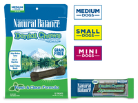 Natural Balance Original Dental Chew Dog Treat