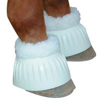 Fleece Lined Bell Boot - White