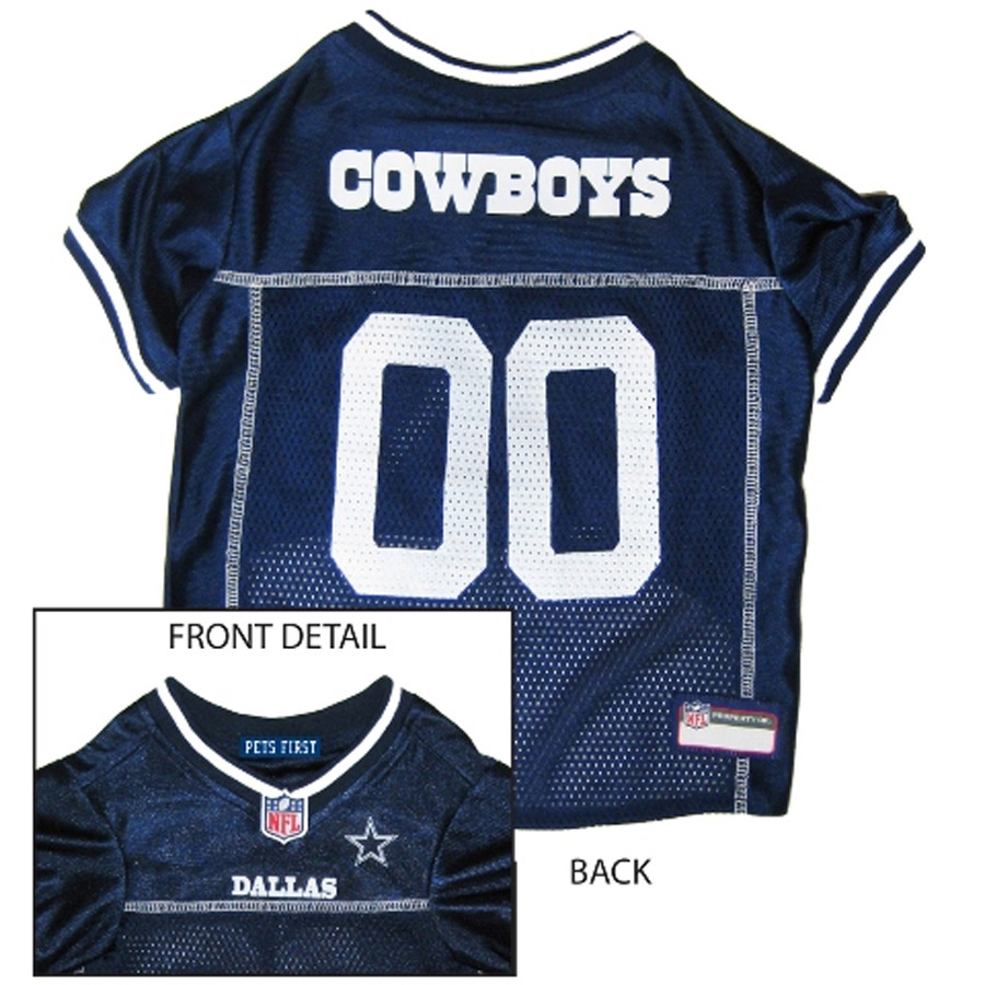 new style 64fae 20be9 NFL Dallas Cowboys Mesh Dog Jersey
