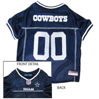 NFL Dallas Cowboys Mesh Dog Jersey