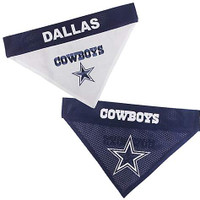 NFL Dallas Cowboys Dog Collar Bandana