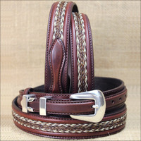 "Tony Lama Belt Men 1.25"" DonDiego"