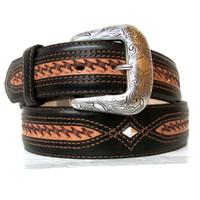 Justin Men's Herdsman Western Belt - Brown