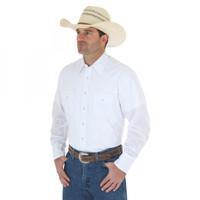 Wrangler Sport Western Snap Shirt - White